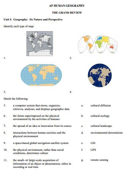ap human geography exam essay questions